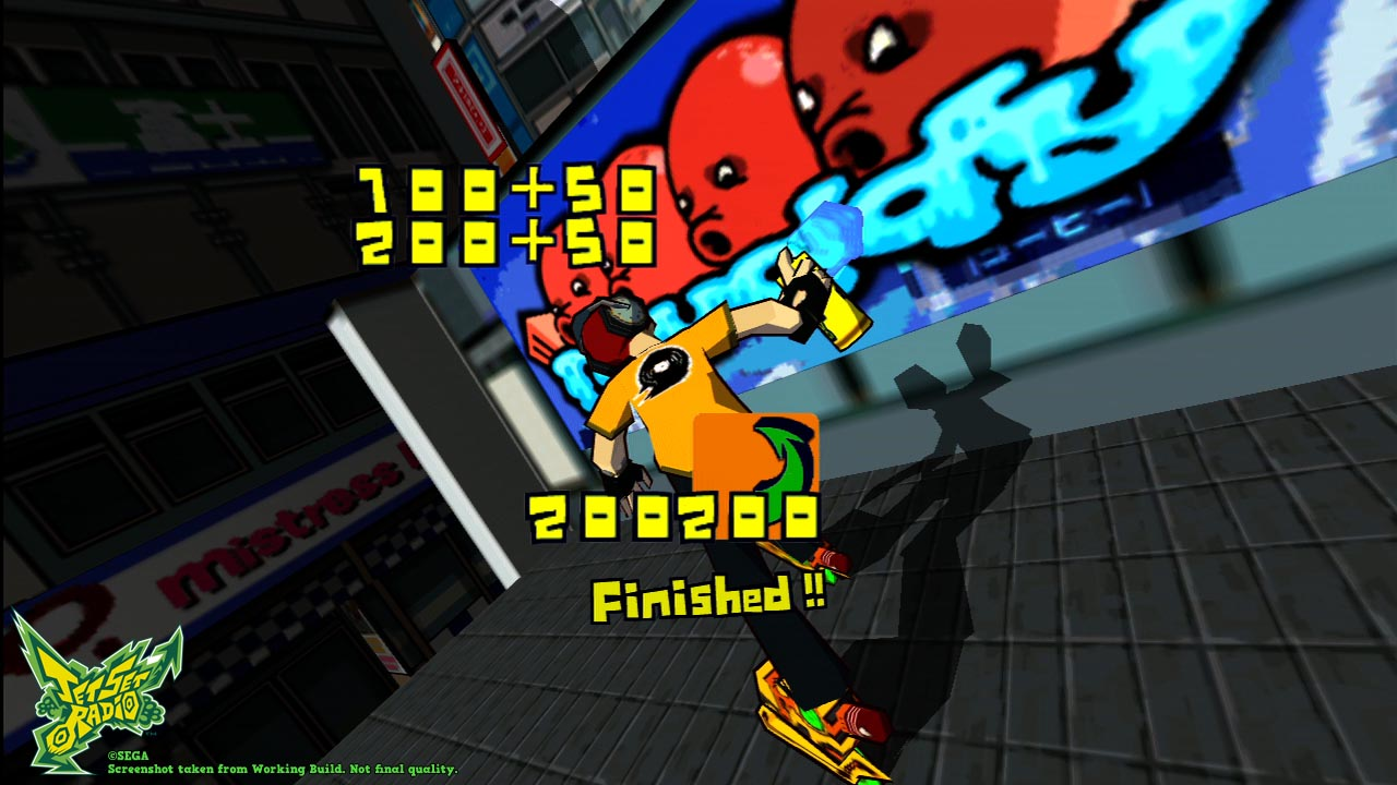 Jeu : Jet Set Radio - Multi