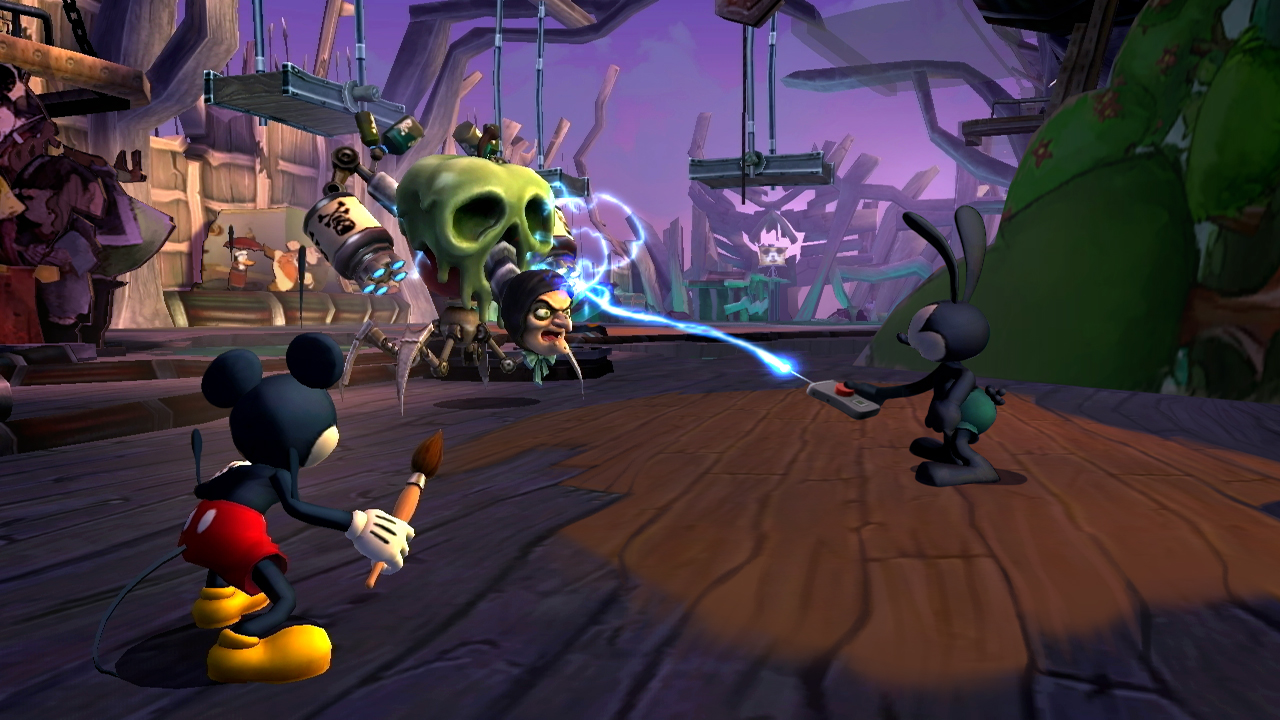 Jeu : Epic Mickey 2: The Power of Two - Wii