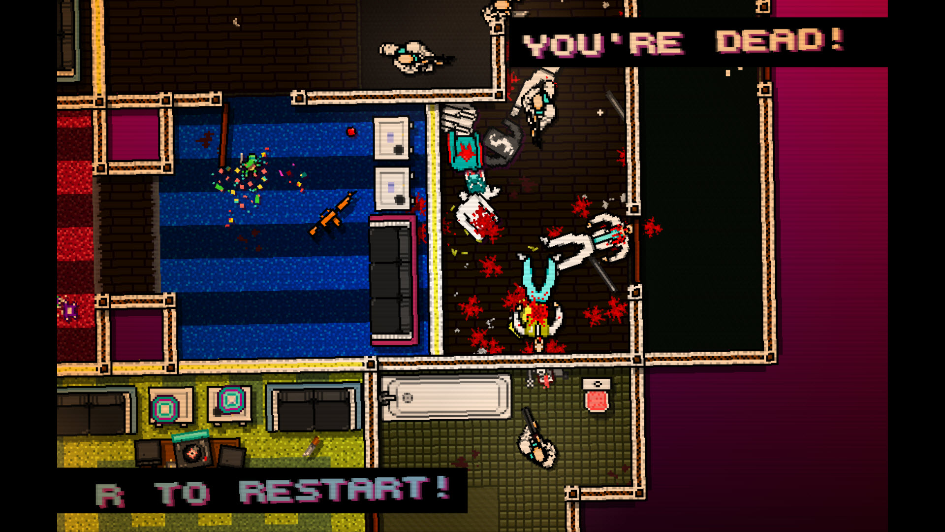 Jeu : Hotline Miami - Multi
