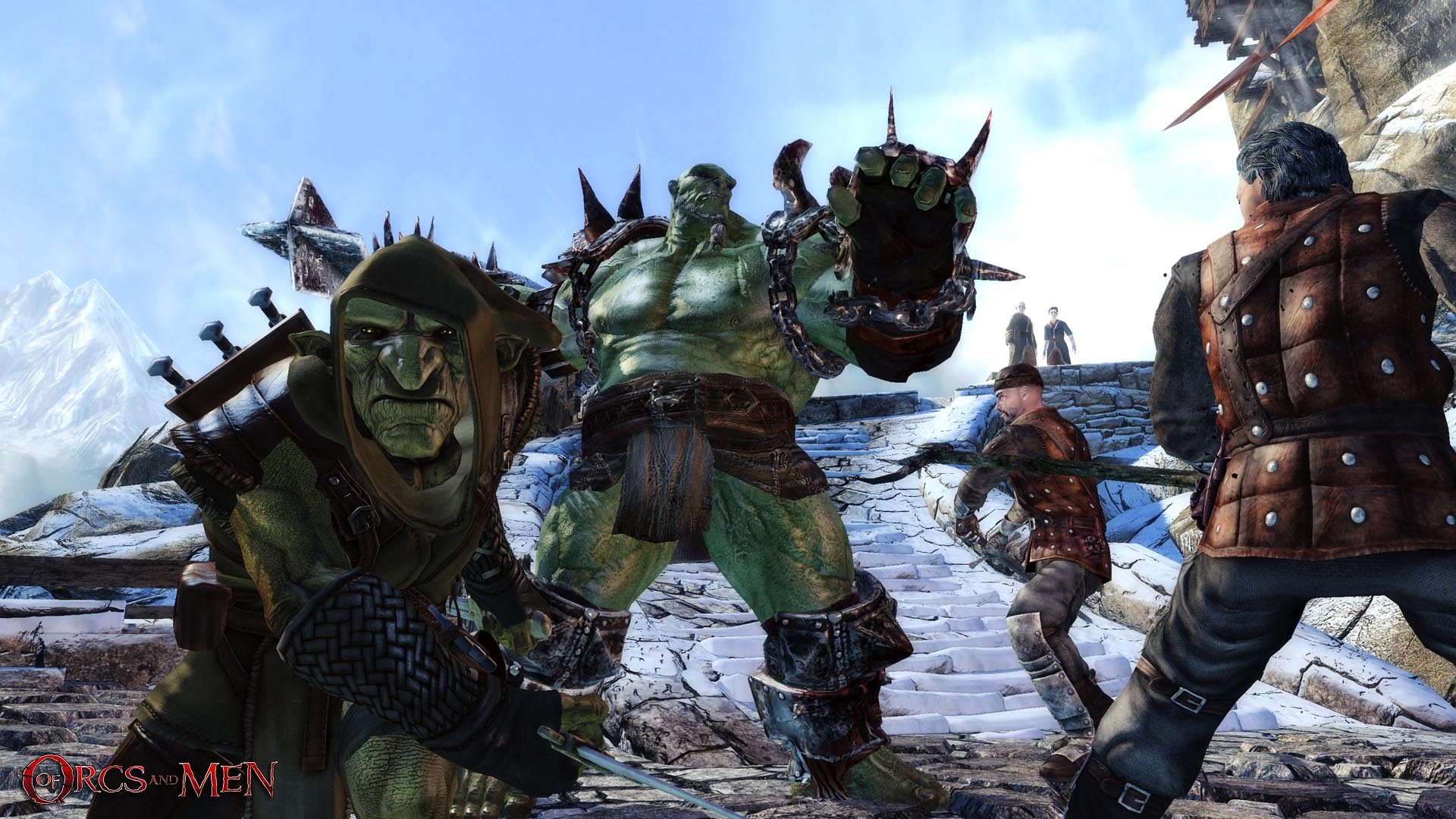 Jeu : Of Orcs And Men - Multi