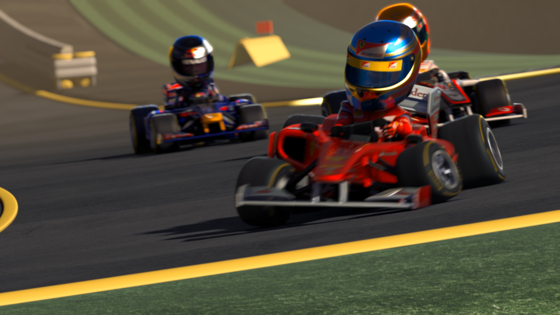 Jeu : F1 Race Stars - Multi