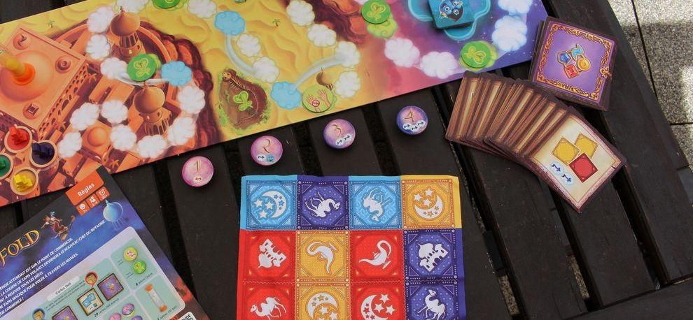 Test jeu Magic Fold Bruno Cathala