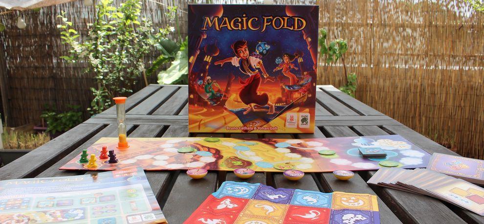 Avis jeu Magic Fold