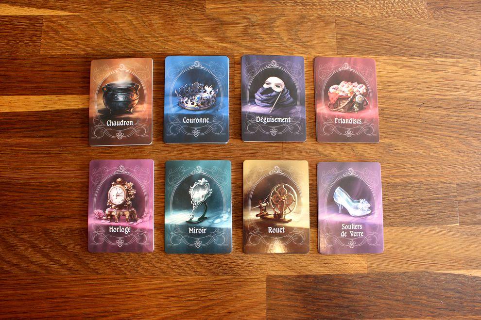 Les cartes Artéfacts - Mascarade des frères grimm