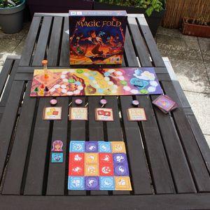 Test jeu Magic Fold