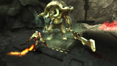 Jeu : God of War : Chains of Olympus - PSP