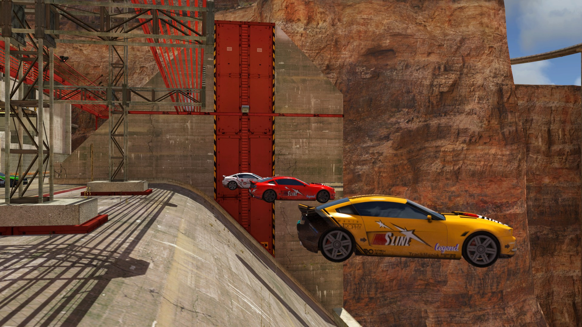 Jeu : Trackmania 2 : Canyon - PC